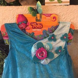 Trolls Costumes - Poppy Trolls Costume Dress